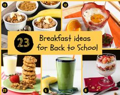 23 Back to School Breakfast Ideas | Garnish with Lemon