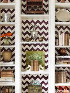 Bookshelf Decorating Ideas - Unique Bookshelf Decor Ideas - House Beautiful