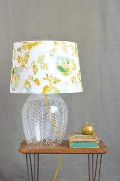 Herringbone Lamp Tutorial @ Vintage Revivals