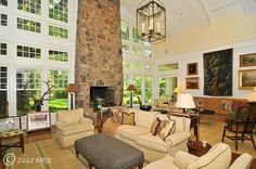 Incredible masterpiece with unparallel design, materials and workmanship. Extraordinary two story wood paneled barreled ceilings in great room and master bedroom. Sensational two story gourmet kitchen,two story glass and skylight english conservatory and sensational custom milled library. Detached exercise facility with private bath.8 car garage pkg.all on 3+private acres. 9210 FOX MEADOW, Potomac , 20854 fox meadow, gourmet kitchens, english conservatori, wood panel, car garage