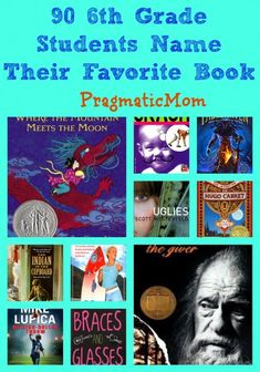 90 6th Grade Students Name Their Favorite Book :: PragmaticMom