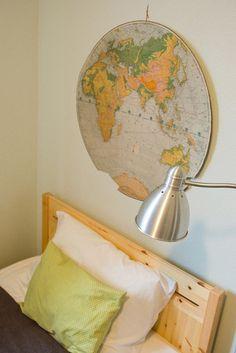 Wanderlust: Map Decor