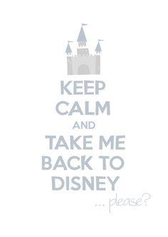 Take me back to Disney