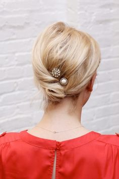 3 amazing hairstyles perfect for the office. Photos by Dominique Fierro.