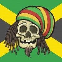 hats, dread timeclock, skull, flags, dreadlocks