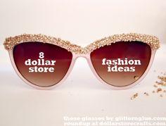 8 Dollar Store Fashion Ideas!