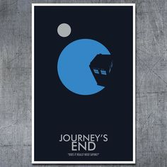 Doctor Who Poster Journey's End 11x17 by ModernStylographer, $17.00