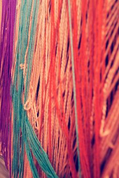 fabulous yarn backdrop  Photography By / http://everwhim.com,Event Design   Planning By / http://jesihaackdesign.com