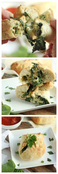 Spinach Artichoke Puffs