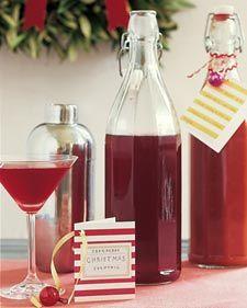 cranberry cocktail mixer