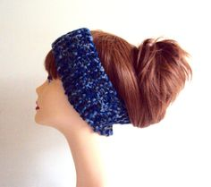 Knit Headband with Removable Flower Earwarmer Cowl Neckwarmer Fall Winter Women Girls Hair Accessories Fashion Accessories Gift Ideas by GrahamsBazaar
