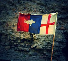 White Boar & England Flag by Red~Cyan (Pro), via Flickr