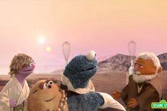 Sesame Street Takes on Star Wars in a Delightful New Parody | The Disney Blog
