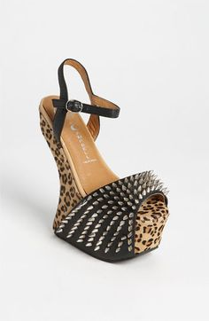 Jeffrey Campbell 'Vicious-Ex' Sandal available at #Nordstrom http://shop.nordstrom.com/