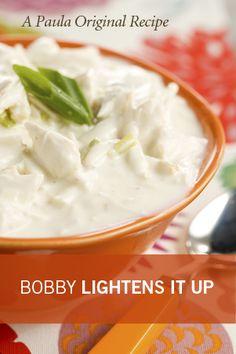 Paula Deen Bobby's Lighter Crab Soup