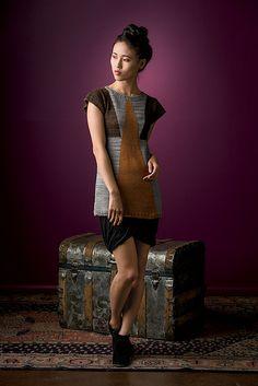 Ravelry: Shaped-Intarsia Tunic pattern by Daniela Nii  (Interweave Knit.Wear Fall/Winter 2013)
