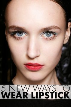 Check out these fab tips! #beauty #lips #lipstick