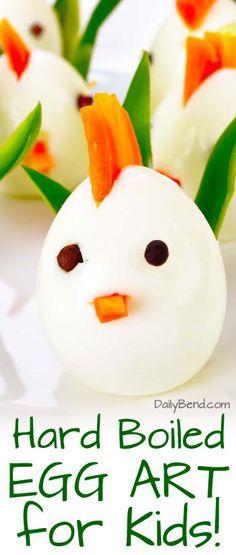 Hard Boiled Egg Art For Kids | DailyBend.com