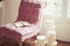 PINK chair!!