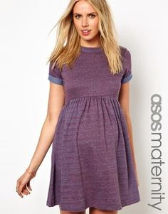 Asos Maternity Smock Dress In Neppi | More maternity here: http://mylusciouslife.com/historical-maternity-fashion-style-across-the-ages/