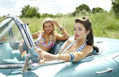 """Lisa Blue Spring/Summer 2013 """"Pinup"""" Collection"""