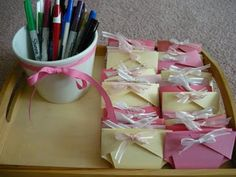 template for this cute diaper pattern- good for invites, advice cards, or thank-you's