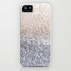 GATSBY SILVER iPhone & iPod Case by Monika Strigel - $35.00