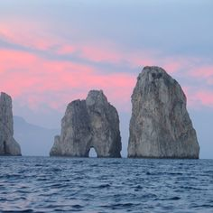 Rock Formations & Sunset by DVF