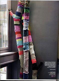 sock, knitting sweaters, yarn bombing, yarns, tree branches