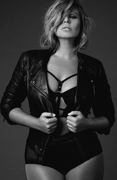 """Fiona Falkiner On The Term 'Plus Size': """"I have no qualms being called a plus-size model"""" CLICK HERE http://bit.ly/1FrzuUQ"""