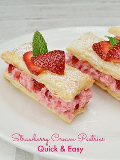 Strawberry Cream Pas