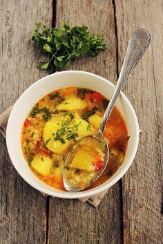 Pasiune pentru bucatarie: Ciorba de legume cu orez