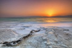 Lowest sunrise on earth - the Dead Sea, Israel