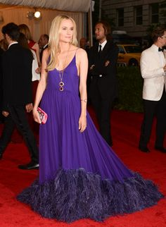 Diane Kruger at the Met Gala 2012#style #redcarpet #harpersbazaar #fashion #partysnaps