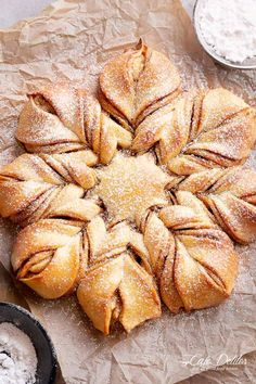 Cinnamon Star Bread - Cafe Delites