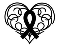 Cancer Ribbon Design