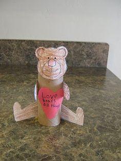 tp teddy bear craft valentin, idea, polar bears, teddy bear picnic crafts, teddy bears, bear craft, prayer crafts for preschoolers, rolls, kid