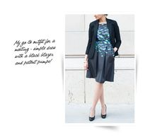 Tara Jarmon Dress + Blazer