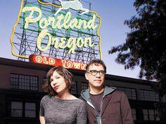 Portlandia. Carrie Brownstein and Fred Armisen