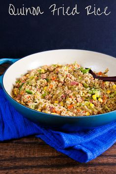 Quinoa Fried Rice is