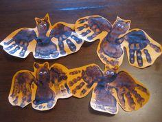 hand/foot print bats