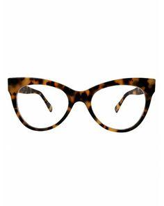 Square Cat Eye Glasses / Tokyo Tort - Finishings - Shop