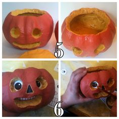 *Rook No. 17: recipes, crafts & whimsies for spreading joy*: How to Make Halloween Folk Art from Dollar Store Pumpkins