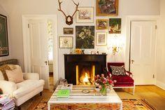 Rita Konig's apartment (via The Selby)