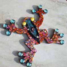tree frog mosaic