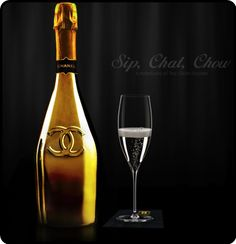 Happy #Thanksgiving! Sharing a a bottle of Chanel champagne with our team. PD