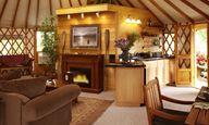 I want this yurt!