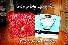 K-Cup Box to Valentine Holder
