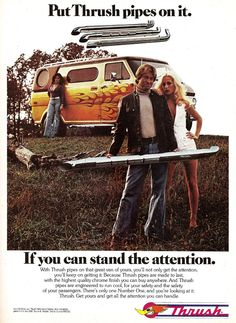 Just a car guy : Thrush pipes and mufflers advertising of the early 70's