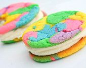 for easter!! sweet sugar springs cookie-wiches with buttercreme! yum!!